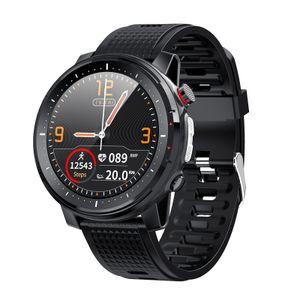 L15 Rateand Blood Pressure Monitoring Multifunktionale Übungsuhr Wasserdichte Uhr LGW201218004BK