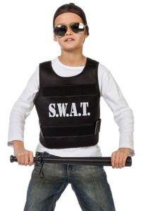 W44230A schwarz SWAT Weste Polizeiweste