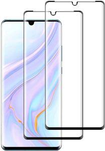 [3 Stück] Panzerglas Schutzfolie für Huawei P30 Pro, [3D Curved Volle Bedeckung] [HD Klar], [Anti-Kratzen], [Anti-Öl], [Anti-Bläschen] Panzerglasfolie Displayschutzfolie für Huawei P30 Pro