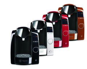 Bosch TASSIMO Joy T45 mit Wasserfilter + 20 EUR Gutscheine* Heißgetränkemaschine, Farbe:Schwarz