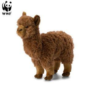 Plüschtier Alpaka (31cm, braun) lebensecht Kuscheltier Stofftier Alpaca Kamel Südamerika