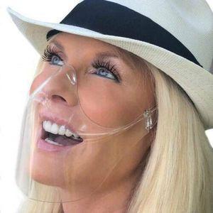 2 Stk Mund Nasen Visier transparent Gesichtsmaske Gesichtsschutz Gesichtsvisier DE