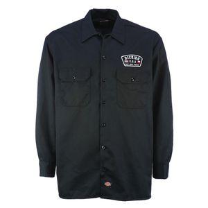 Dickies - Minersville 05 200294 Black (BK) Hemd Langarm Shirt Freizeit  Größe S