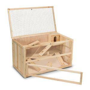 Meerschweinchenstall CHINO aus Holz, 100x55x55 cm (L/B/H)