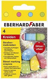 Eberhard Faber Glitzer-Straßenmalkreide 4ST