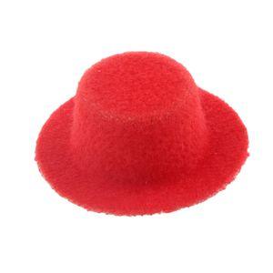 1:12 Puppenhaus Dekoration Zylinder Hut Mütze Farbe rot