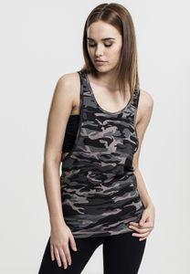 Urban Classics Ladies Camo Loose Tank Frauen Tanktop Camouflage, Größe: Xs; Farbe: Urban Camo
