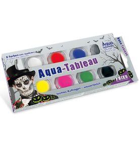 Aqua Schminke 8 Tiegel Halloween Karneval Fasching