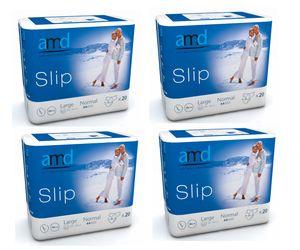 amd slip large normal 00, 4x20St./Kt. Windeln Inkontinenz Windelhose
