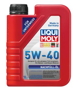 Liqui Moly Nachfüll Öl 5W 40 Hochleistungs Leichtlaufmotoröl 1L