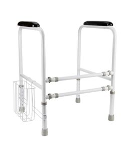 RIDDER WC-Aufstehhilfe Bett Stütze Höhenverstellbar WC Toiletten Toilettenstütze