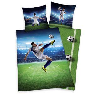 Herding  Bettwäsche Fußball WM 140 x 200 cm Baumwolle