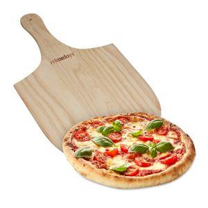 relaxdays Pizzaschieber aus Holz