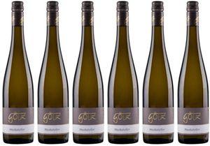 6x Muskateller feinherb 2018 – Weingut Albert Götz, Pfalz – Weißwein