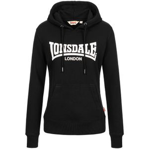 Frauen Kapuzensweatshirt FLOOKBURGH Black XXL Lonsdale