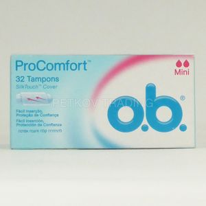 O.B. Pro Comfort Mini Tampons, 32er Pack