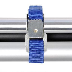 ProPlus Fahrradträger mit Metallschnalle 40cm blau 4 Stück