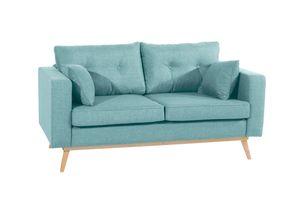 Max Winzer Tomme Sofa 2-Sitzer - Farbe: aqua - Maße: 170 cm x 90 cm x 85 cm; 30671-2100-1645230-F01
