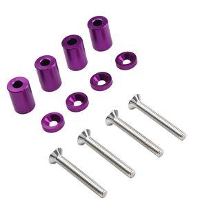 4X Hood Vent Spacer Kit Lila 25 x 18,5 mm + 45 x 6 mm + 18 x 4 mm