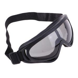 1 Stück Motorradbrille Farbe Schwarz