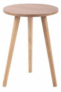 CLP Tisch Kolding, Farbe:natura, Größe:40 cm