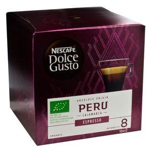 Nescafé Dolce Gusto Absolute Origin Peru Espresso, Kaffee Kapsel, Kaffeekapsel, Röstkaffee, 12 Kapseln