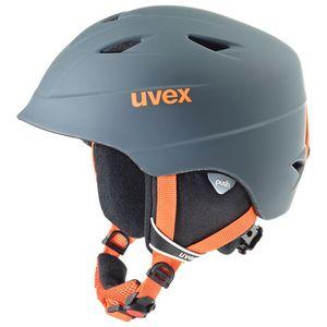 Uvex Airwing 2 pro - Skihelm für Kinder, Größe:52-54 cm, Farbe:grau/silber