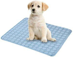 Kühlmatte für Hunde, ungiftig, Sommer, Schlafbett für kleine Hunde, Haustiere, Katzen, Welpen (100*70cm)