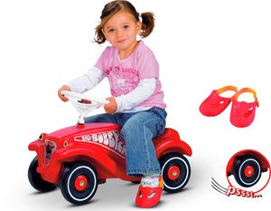 BIG - Bobby Car inklusive Flüsterräder und Schuhschoner