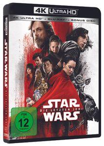 Star Wars: Die Letzten Jedi (4K UHD Edition), 1 Bluray