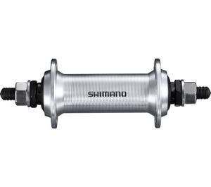 Vorderradnabe HB-TX500, 36 Loch, Vollachse m. Muttern, Schnellspanner 133 mm, Si