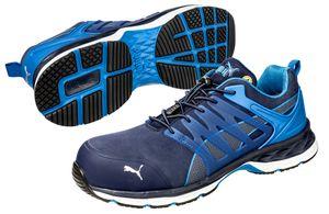 PUMA 643850 Velocity 2.0 Blue Low S1P 64.385.0 Sicherheitsschuhe Arbeitsschuhe, Schuhgröße:40