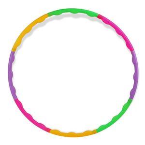 55 cm Hu-la-Hoop-Reifen für Kinder, Abnehmbar Wellenmuster für Fitness Übungswerkzeug - bunt