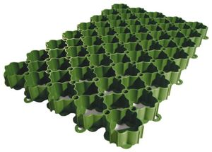 ACO Self® 586x386x38mm Rasenwabe Rasengitter Rasenplatte Gitter für Rasen Waben Padock