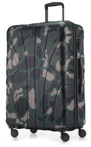 Suitline - Hartschalen-Koffer Koffer Trolley Rollkoffer Reisekoffer 4 Rollen TSA 100% ABS