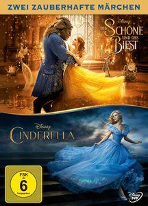 Die Schöne und das Biest & Cinderella (Live-Action) [DVD]