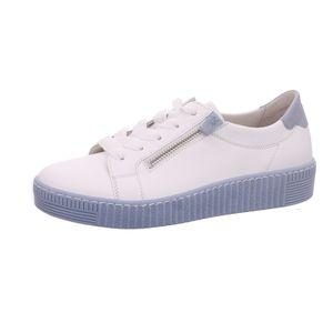 Gabor Shoes     weiss lack, Größe:81/2, Farbe:weiss (aquamarin) 1