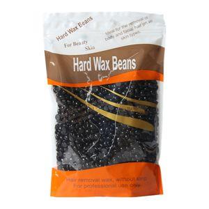 100g Wachsbohnen Wachsperlen Wachs Haarentfernung, Hard Wax Beans Enthaarungswachs Schwarz 12 x 18,5 x 0,5 cm