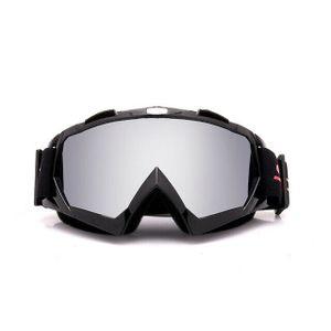 Crossbrille Skibrille Motocross Brille Sport Sonnenbrille Schneebrillen Black-mercury Film