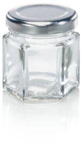 Sechskantglas 47 ml