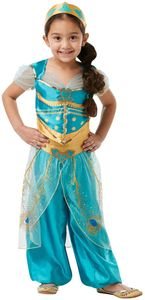 Disney Kinder Kostüm Prinzessin Jasmin Karneval Fasching 5 bis 6 J.