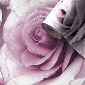 Tapete Madison Rose Glitter violett lila