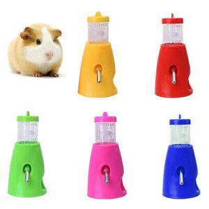 Haustier Wasserflasche Trinkflasche Wasser Feeder Spender für Hamster 80ml