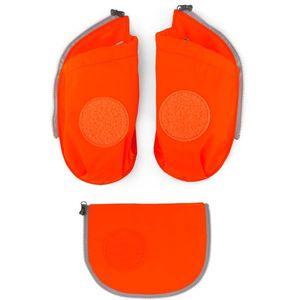 Ergobag cubo Sicherheitsset mit Flaschenhalter, Orange