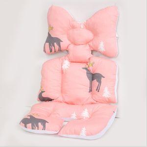 Universal Sitzauflage für Kinderwagen, Buggy Kindersitz und Babyschale, Atmungsaktive Sitzeinlage, Cover Kinderwagen Kissen für kinderwagen,Kinderwagen Sitzauflage Sitzpolster (J)