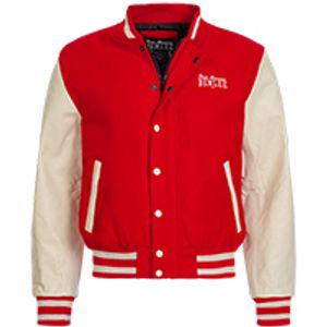 Herren College Jacke COLLEGE Red/Ecru L Benlee