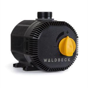 Waldbeck Nemesis T35 Teichpumpe , 35 Watt , Maximale Förderhöhe: 2 m , 2300 l/h Durchsatz , Schutzklasse IPX8 , Schutzkontaktstecker für den Außengebrauch , Anschlüsse: 3/4'' und 1'' , Netzkabel mit 10 m Länge