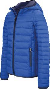 Kariban Herren Stepp-Jacke Leichte Kapuzen Steppjacke K6110 Blau Light Royal Blue M