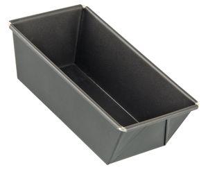 Dr. Oetker Kastenform 15 cm BACK-FREUDE MINI, kleine Kuchenform, eckige Backform aus Stahl mit Antihaftbeschichtung (Farbe: Schwarz), Menge: 1 Stück