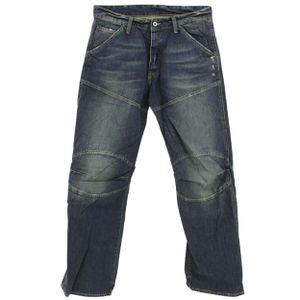 24659 G-Star Raw, 5620 3D Loose,  Herren Jeans Hose, Denim ohne Stretch, blue destroy, W 30 L 34